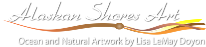 Lisa LeMay Doyon Artwork – Alaskan Shores Art Logo